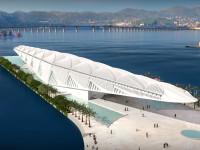 O Futurístico Museu do Amanhã será inaugurado no Rio de Janeiro dentro de um mês