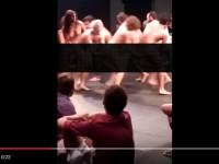 Grupo de teatro apresenta performance polêmica no Sesc Cariri (PE)
