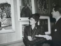 Em Novembro de 1944, a primeira exposição coletiva de arte brasileira na Europa