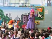 Clubinho de Planeta em Cena diverte e conscientiza público infantil no Piauí