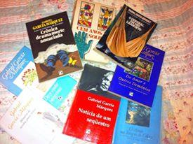 apenas algumas das dezenas de obras de Gabo