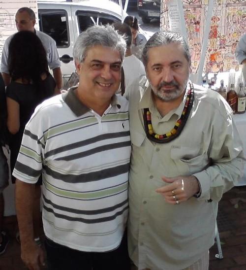 Ricardo com Moacyr Luz