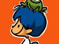 O criador do menino de cabelo azul