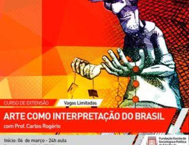 Curso: O BRASIL explicado a partir da sua ARTE