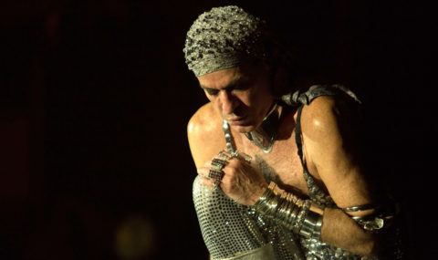 Ney Matogrosso confirma show em Florianópolis no início de Abril
