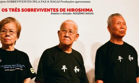 """""""Os Três Sobreviventes de Hiroshima"""" tem apresentações gratuitas em São Paulo e Curitiba"""