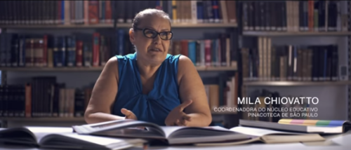 Mila Chiovatto - Coordenadora Pinacoteca SP