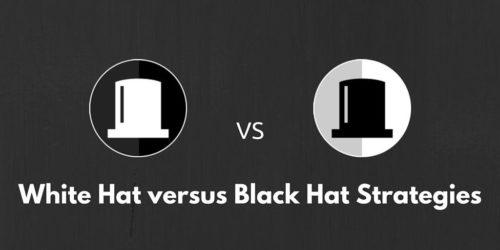 Estratégias de White hats e Black hats