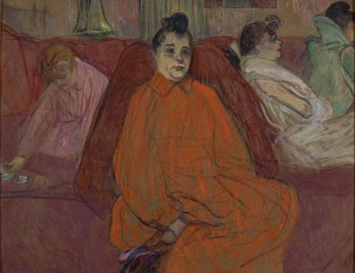 Toulouse-Lautrec in Red no MASP