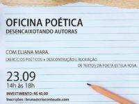 Oficina na Casa Naara vai ensinar novas técnicas de escrita e para criar poemas