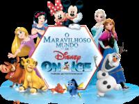 Disney On Ice: Um espetáculo inédito com mais de 50 personagens, oito filmes, em apresentações repletas de aventuras para toda a família
