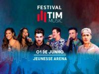 FESTIVAL TIM MUSIC reúne estrelas da música em shows no Rio de Janeiro e em São Paulo