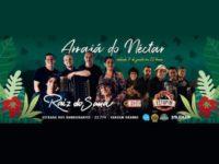Raiz do Sana comemora seus 20 anos de carreira em apresentação no Nono Arraia do Néctar-RJ