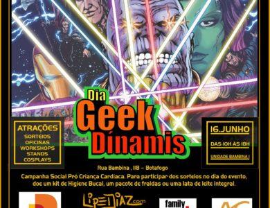 Dia Geek Dínamis: nosso primeiro evento Geek foi um sucesso!!