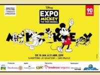 Pela primeira vez no Brasil teremos a Exposição Mickey 90 anos em São Paulo!