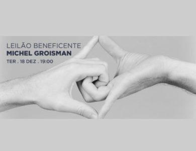 EAV Parque Lage realiza leilão beneficente Michel Groisman