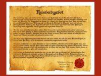 Lei de pureza alemã – Reinheitsgebot
