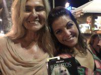 Lançamento do livro 'Relatos', primeiro da autora BRita BRazil reúne famosos em seu lançamento no Rio de Janeiro.