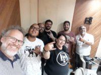 Bandas LEMAK e DISOLA visitam o programa GARAGEN' ROLL (Rádios Pop Rio e ROCK FM Brasil)
