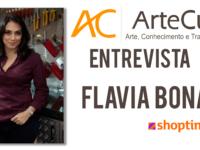 """Conversamos com os apresentadores SHOPTIME: Conheça mais Flavia Bonato do """"Cozinha Criativa"""""""