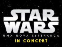 """Star Wars in Concert """"Uma Nova Esperança""""  chega ao Brasil em abril pela primeira vez nas cidades de São Paulo e do Rio de Janeiro."""