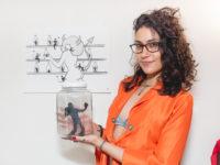 """""""SOBRE PRAZERES"""": Exposição da artista plástica Jota Carneiro no ESPAÇO FLUIR BOTA-FOGO"""