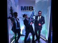 MIB – INTERNACIONAL: Filme que estreou hoje teve pré-estreia divertida que agitou a noite paulistana