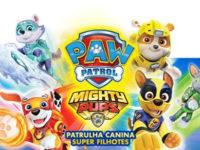 """""""Patrulha Canina: Super Filhotes"""" : animação que é um sucesso entre as crianças estreia amanhã nas telonas"""