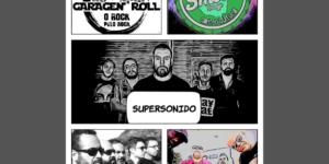 Garagen´Roll: Programa de rádio referência do Rock Brasileiro Independente comemora 5 anos de existência na Smoke Lounge!