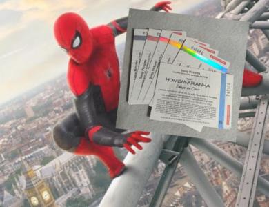 Homem-Aranha Longe de Casa: Que tal GANHAR UM CONVITE para ver este filmão?