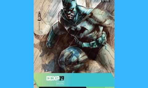CCXP19: Festival entra no calendário oficial dos 80 anos do Batman e anuncia tema das credenciais