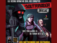 """""""O Doutrinador – Invasão"""" : Doutrinador invade a sede do governo em board game desenvolvido no Brasil!"""