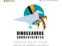 Bondinho Pão de Açúcar recebe mostra sobre Dinossauros