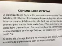 ROCK IN RIO 2019: The Martinez Brothers Cancela Apresentação