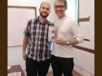 José Petrola e Winter Bastos lançam livros e conversam com o público no SINDIPETRO