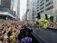 Brazilian Day: Aproximadamente 2 milhões de pessoas em NY para show com grabdes nomes da nossa música