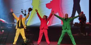 Information Society: Confira o show da banda no Km de Vantangens Hall