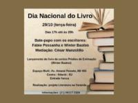 LITERATURA NA VARANDA: Evento em Niterói celebra o Dia Nacional do Livro