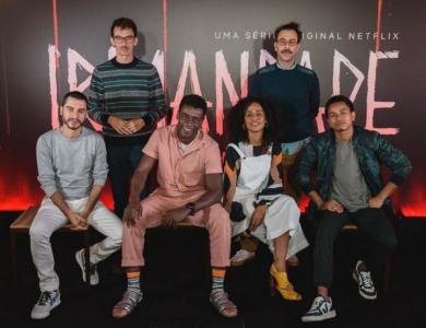 IRMANDADE : Participamos da coletiva de imprensa da nova série brasileira da NETFLIX