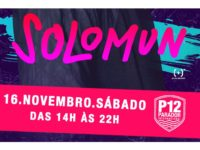 SOLOMUN comanda a cabine do P12 dia 16 de novembro
