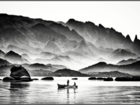 """""""Território de Pesca e Poesia"""": Exposição de Fotografias de Luiz Bhering retrata vida de colônia de pescadores de Niterói"""