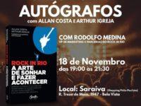 """Lançamento do livro """"Rock in Rio – A Arte de Fazer e Acontecer"""" nesta segunda-feira (18) em São Paulo"""