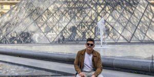 Édipo Pereira já visitou mais de 68 países e se torna referência como influenciador digital no meio de viagens