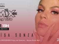 """Luísa Sonza abre sua caixa musical de """"Pandora""""  em show gratuito no FM HALL"""
