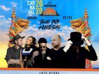 Carnaval: Pela primeira vez, Warung Tour desembarca em Maresias durante o Carnaval