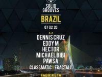 Música Eletrônica: Solid Groove chega ao Brasil com Michael Bibi, Pawsa e os brasileiros Clasmatic e FractaLL
