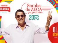 """Música: Zeca Pagodinho volta ao Jockey Club com o """"Samba do Zeca"""""""