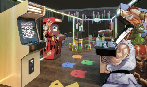 Férias no RIOSUL: estação de games com os clássicos da década de 80
