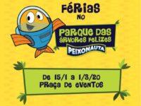 Peixonauta faz criançada mergulhar na diversão no Complexo Tatuapé