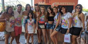 CAMAROTINHO RIO: Atores mirins curtem a folia no primeiro camarote infantil da Sapucaí